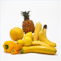 Think yellow – corn yellow bell peppers lemons grapefruit